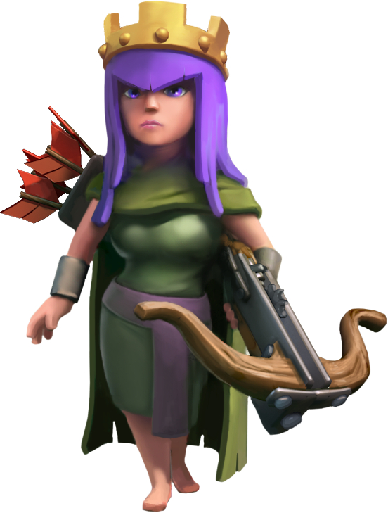 Archer Queen - guide to heroes in Clash of Clans