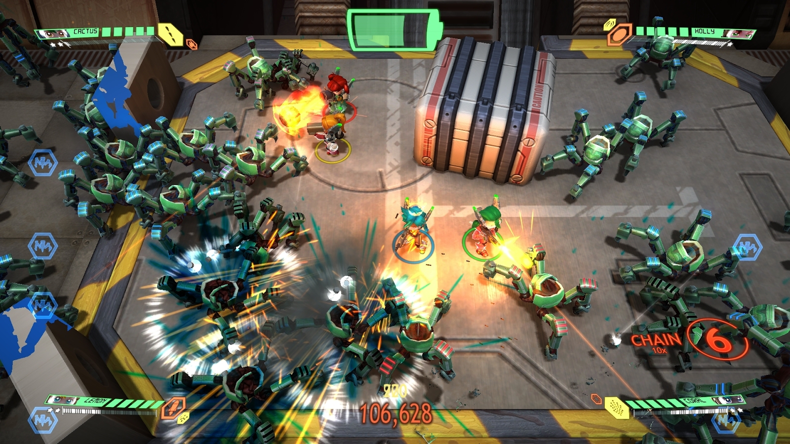 Assault Android Cactus will bring hectic dual stick action to PS Vita in early 2016