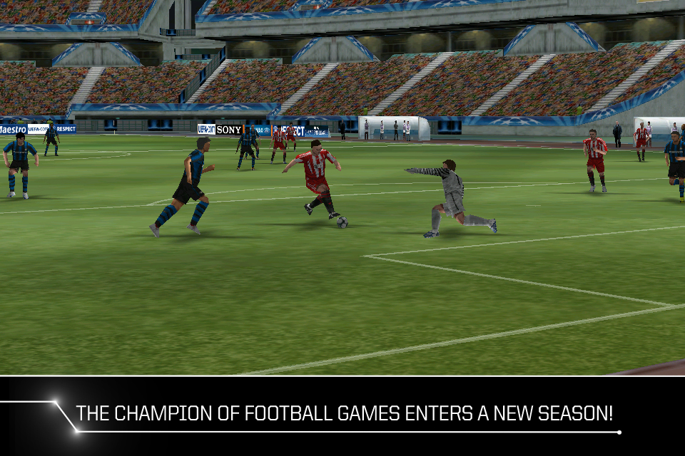 PES 2011 iPhone Retina display update submitted to Apple
