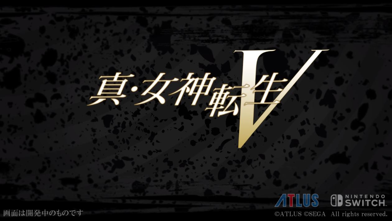 Shin Megami Tensei V is headed to the West on Nintendo Switch