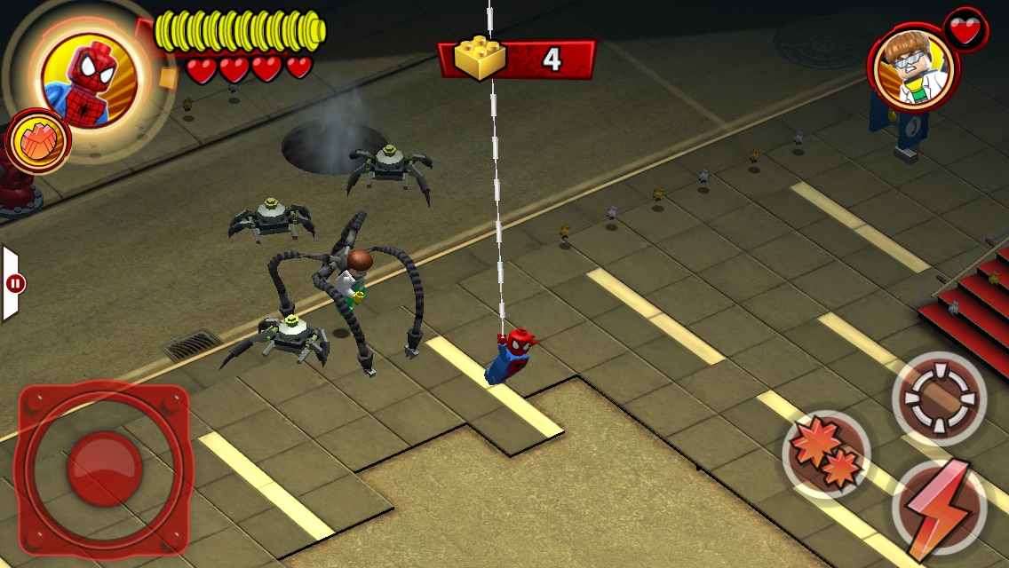Lego Marvel Super Heroes: Universe in Peril | Articles | Pocket Gamer