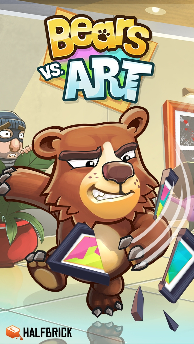 Halfbrick is giving us all claws this Thursday with the global launch of Bears vs. Art