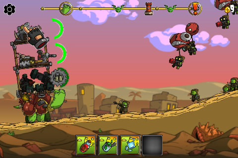 Silver Award-winning turtle 'em up Shellrazer is free right now for iOS and Android