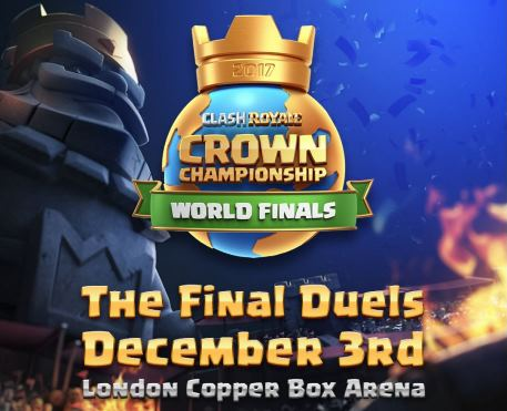 Tickets now available for Clash Royale's Crown Championship finale, taking place in London's Copper Box Arena December 3rd