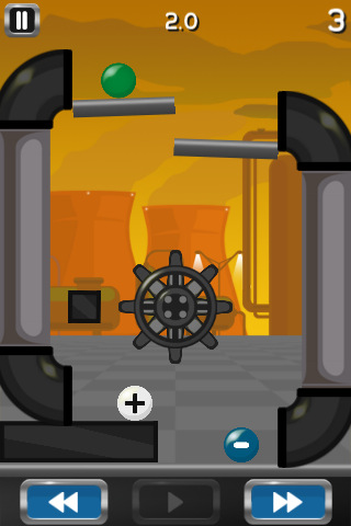 Free iPhone game: Collider!