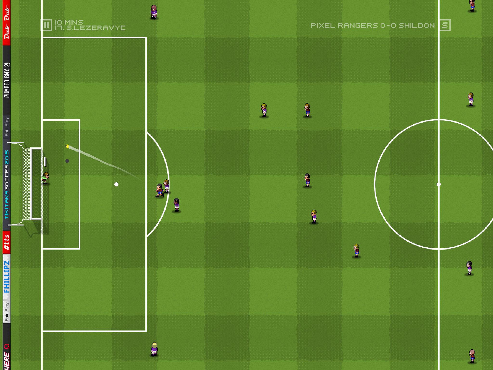 Tiki Taka Soccer - An almost beautiful game