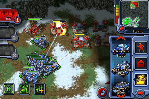 Command & Conquer: Red Alert (iPhone)