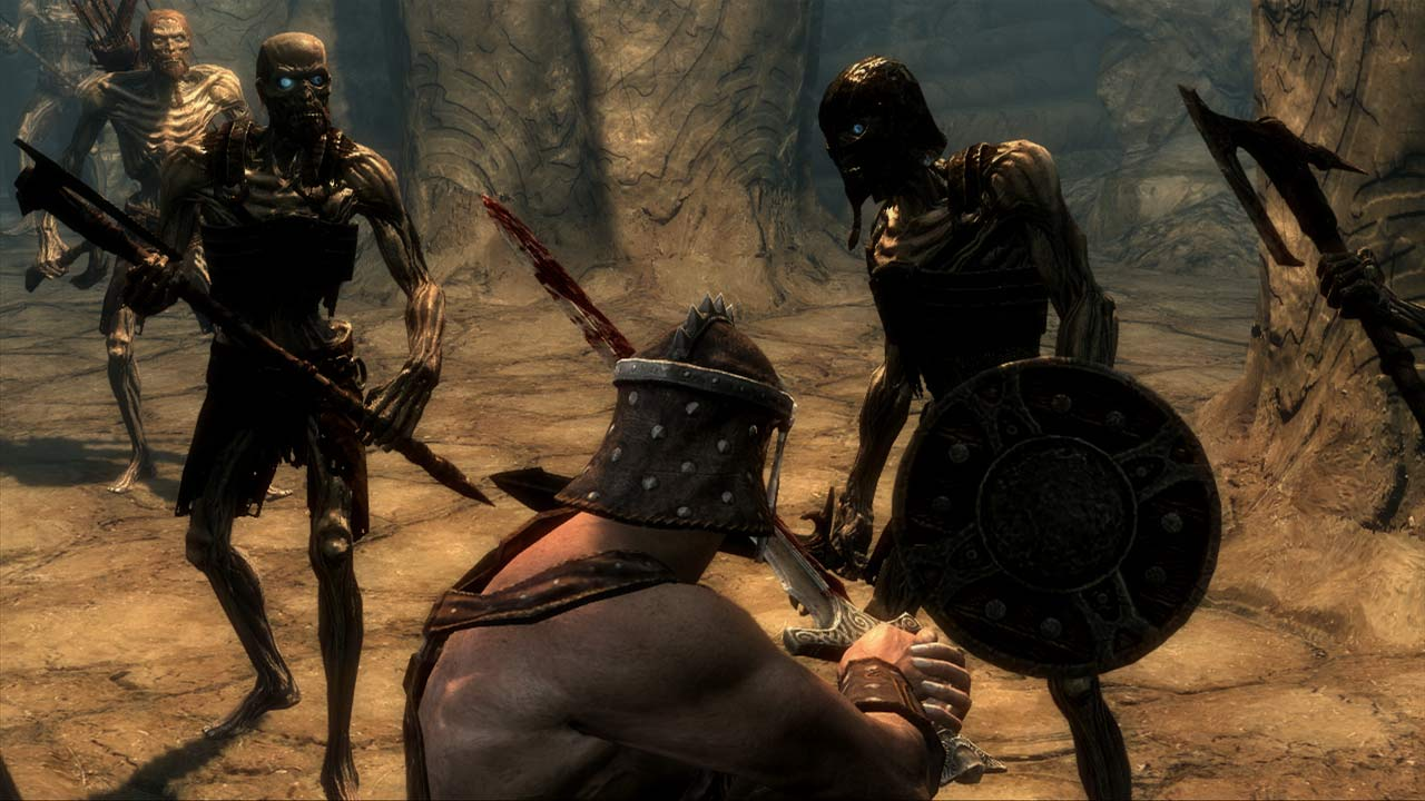 Watch Skyrim being played on a PS Vita | Articles | Pocket Gamer