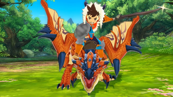 TGS 2015: Monster Hunter Stories shows off flying monsters and its larger story