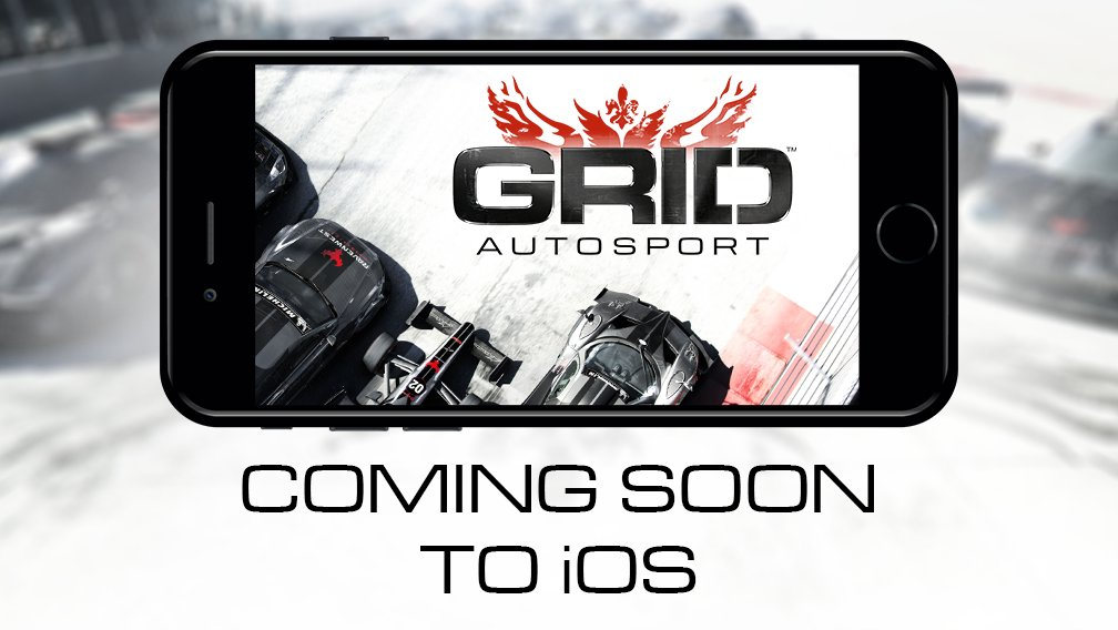 The latest GRID Autosport trailer shows off touch, motion, and MFi controls