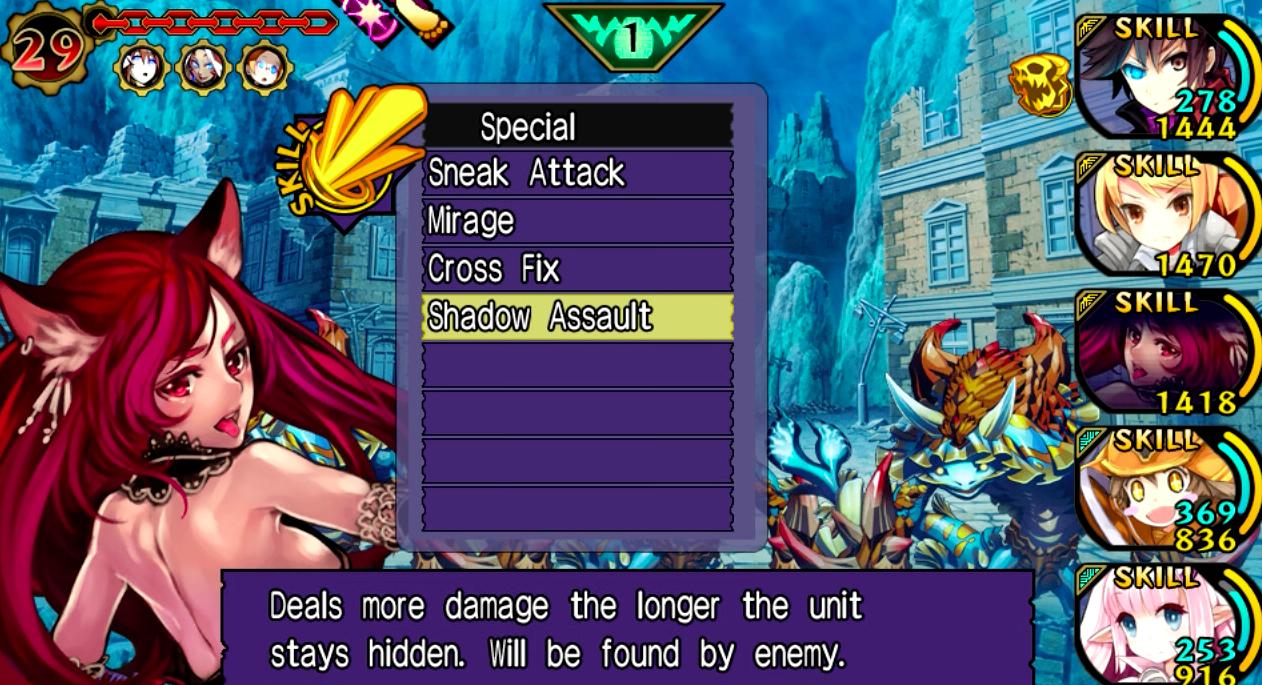 Upcoming Vita dungeon crawler Demon Gaze will offer free Disgaea DLC at launch
