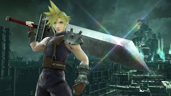 Final Fantasy VII's Cloud Strife is coming to Super Smash Bros. for 3DS