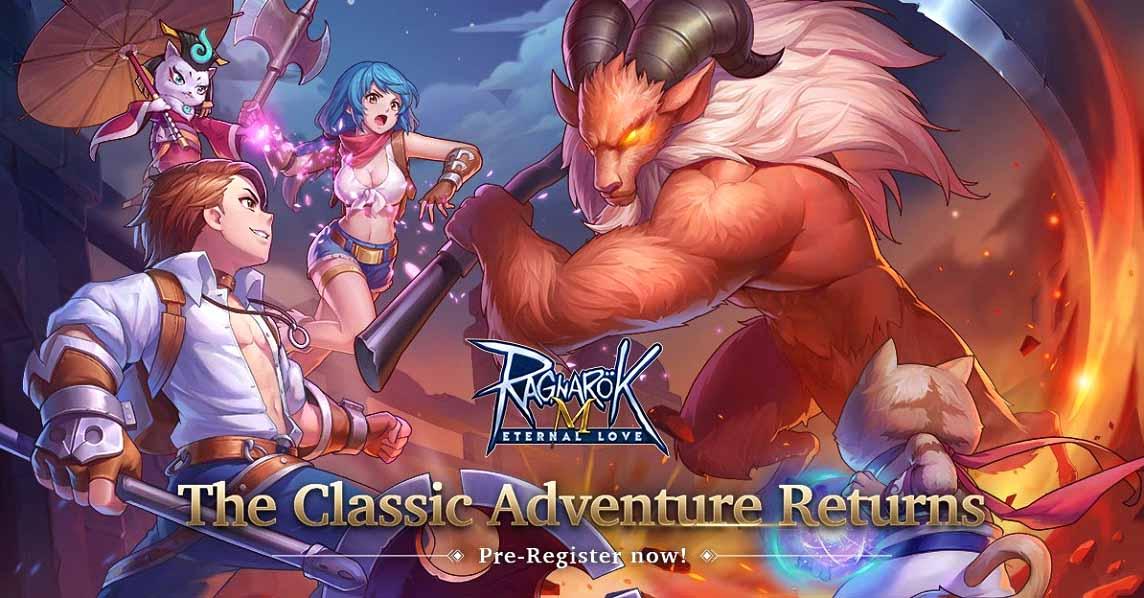 Pre-registration is now open for Ragnarok M: Eternal Love