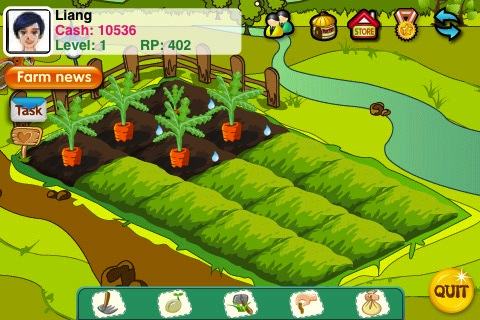 FarmVille rival Papaya Farm returns to the App Store, now cross-platform with Android