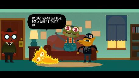 Night in the Woods publisher Finji shares a brief glimpse of the adventure game running on iOS
