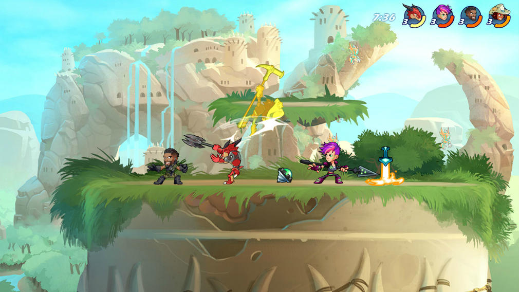 Ubisoft gives fans a chance to play Brawlhalla on Switch a bit early