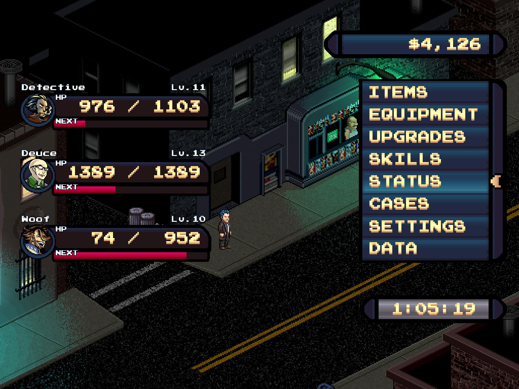 Kickstart this: Pixel Noir is a JRPG-inspired detective game for PS Vita