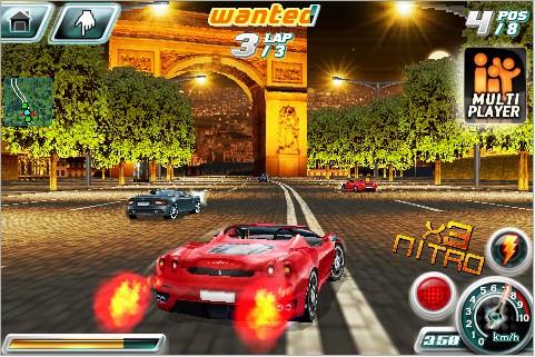 Gameloft launches Asphalt 4 Elite Racing for iPhone