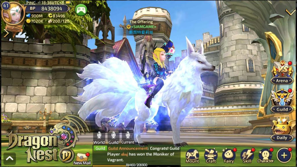 MMORPG Dragon Nest M opens pre-registration ahead of its mobile release
