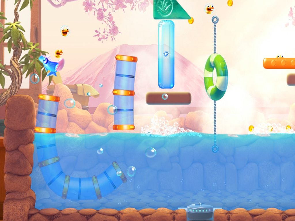 Gameloft bringing 69p / 99c physics-puzzler Shark Dash to iOS and Android on April 19th