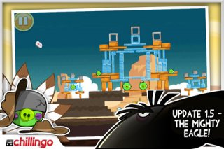 Angry Birds iPhone Ham 'Em High update introduces the 59p Mighty Eagle
