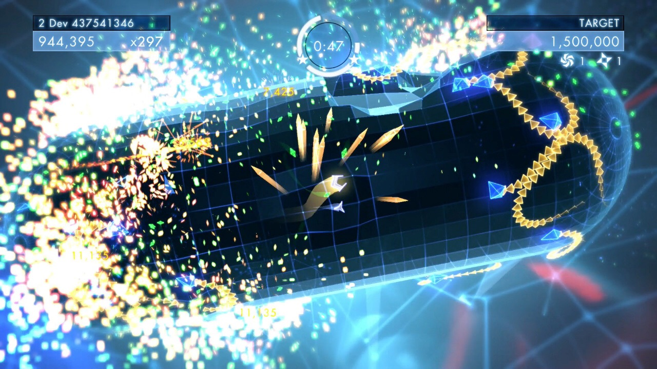 Tips for victory in Geometry Wars 3: Dimensions Evolved