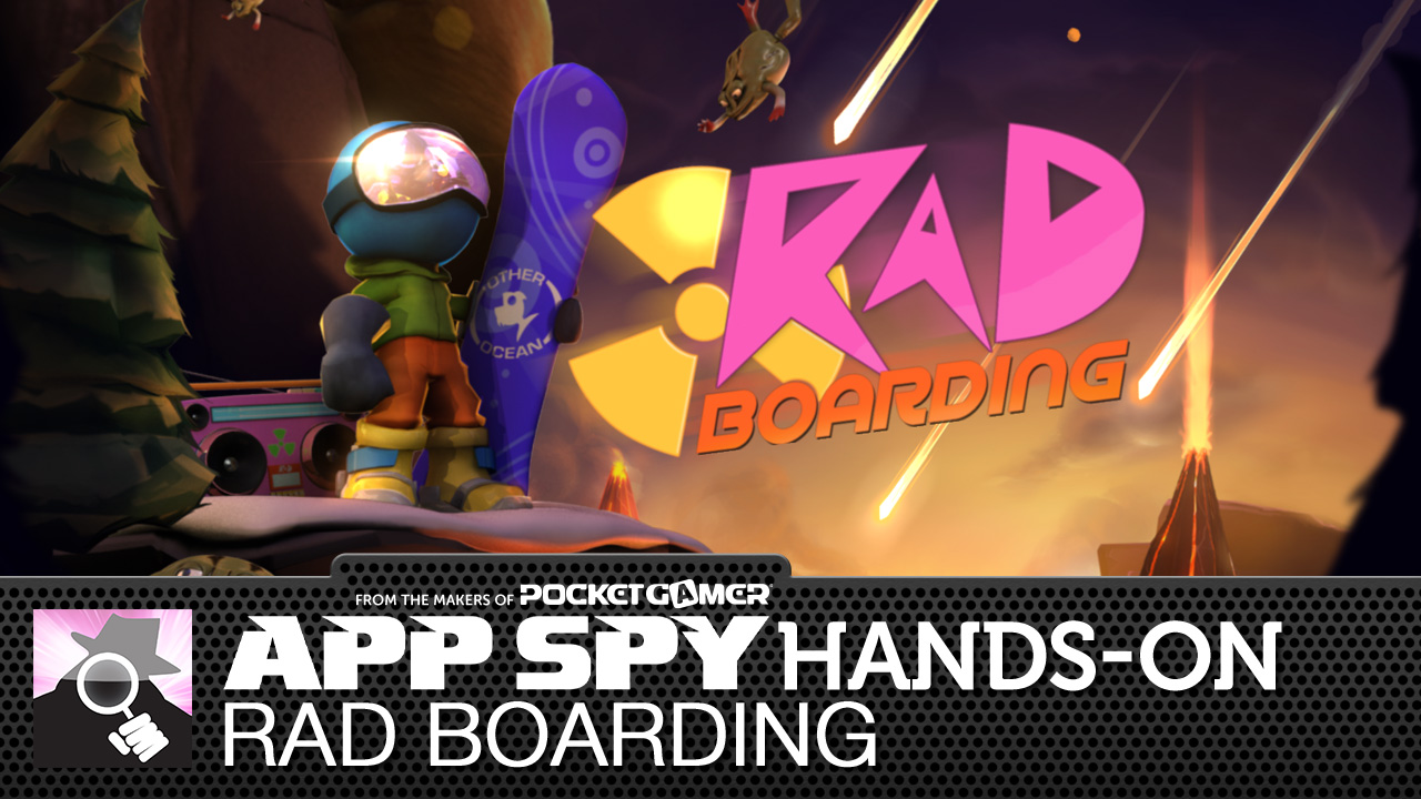 Rad Boarding is what happens when SSX meets Tiny Wings, and this video explains why