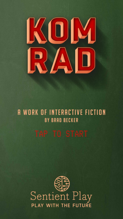 Soviet AI interactive fiction KOMRAD goes on sale for free