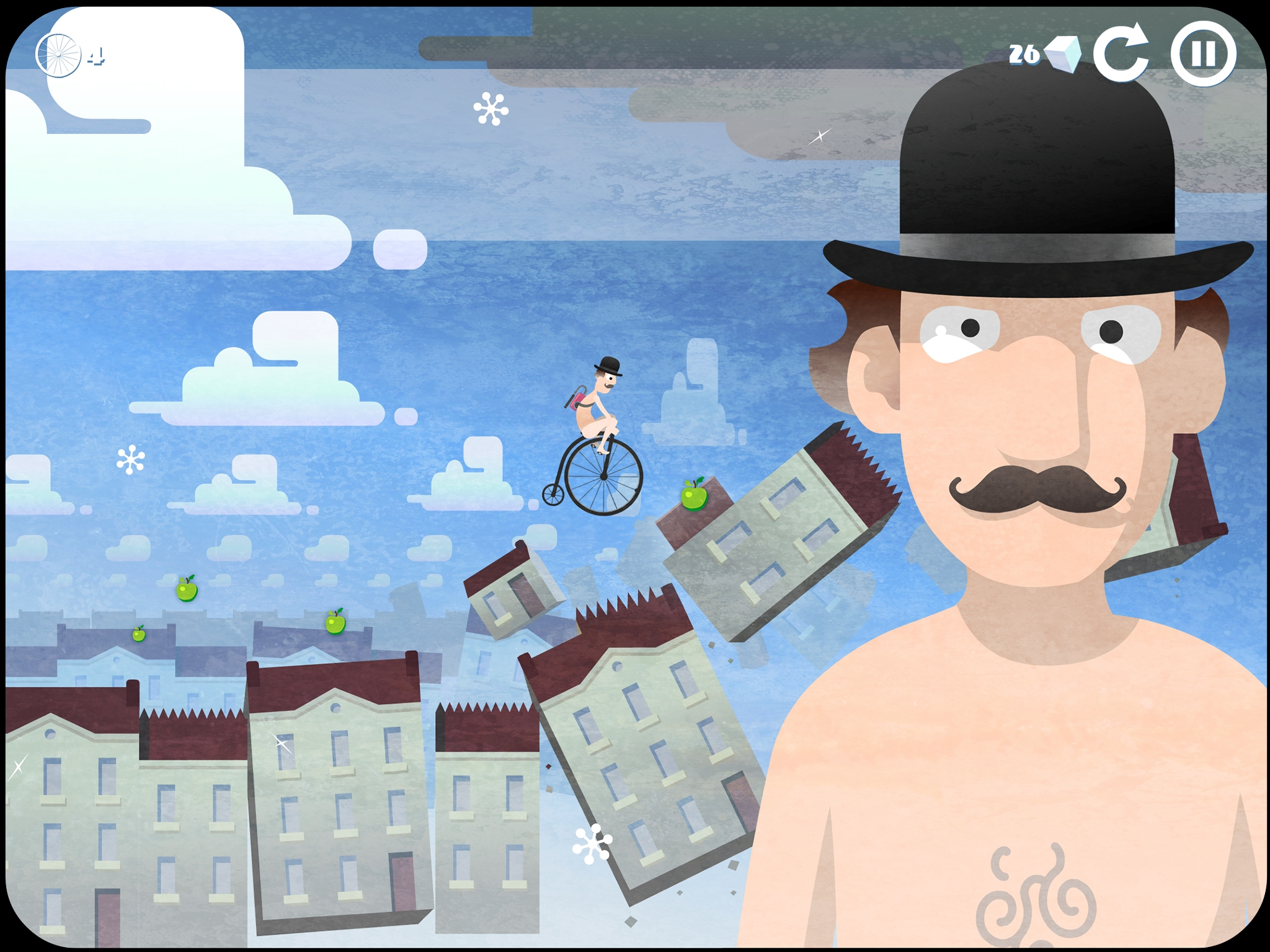 Out now - Arty platformer Icycle: On Thin Ice is a surreal bike ride through your own subconscious