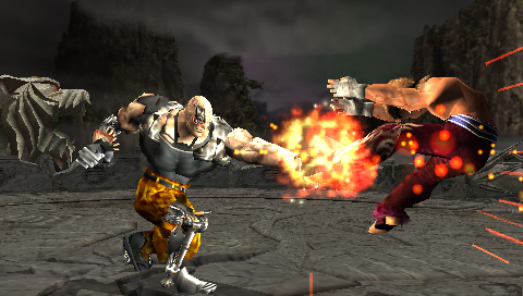 New Tekken: Dark Resurrection PSP images