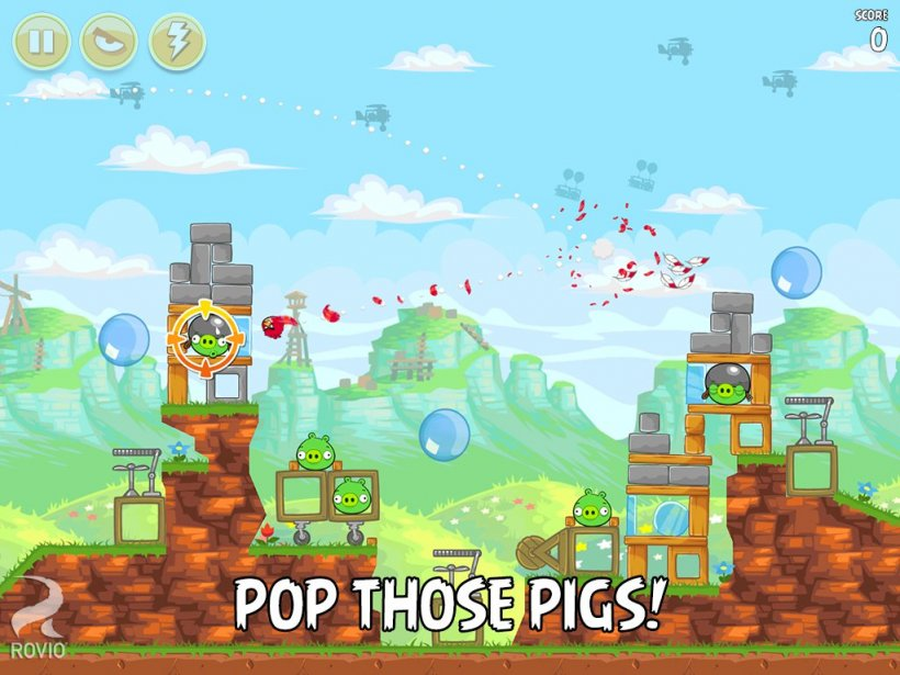 Angry Birds gets updated with 15 new levels