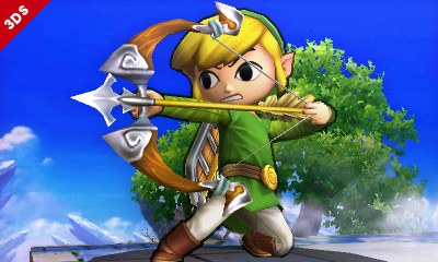 A new challenger has appeared - Toon link announced for Super Smash Bros.