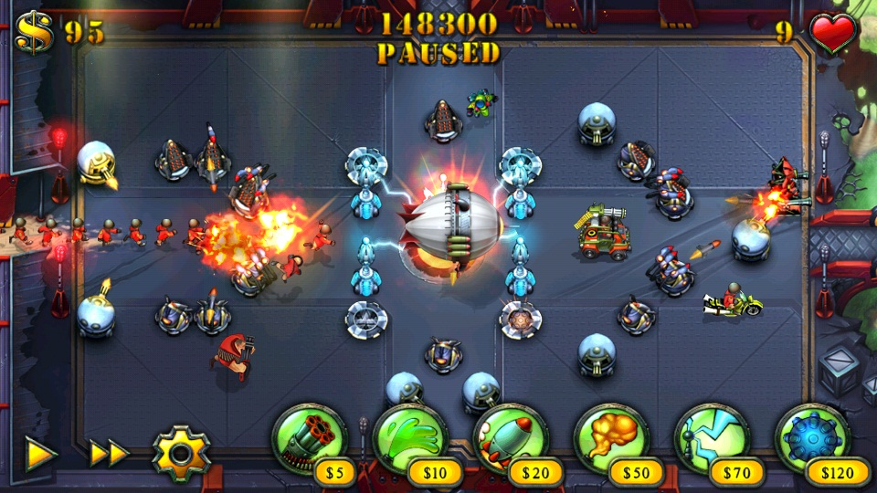 Fieldrunners HD released on Android, free for today only