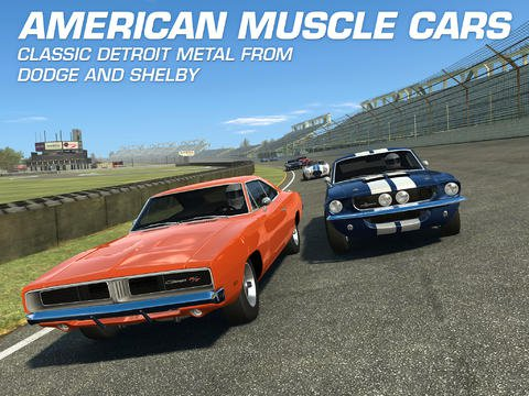 Firemonkeys adds some screaming V8 muscle cars to Real Racing 3