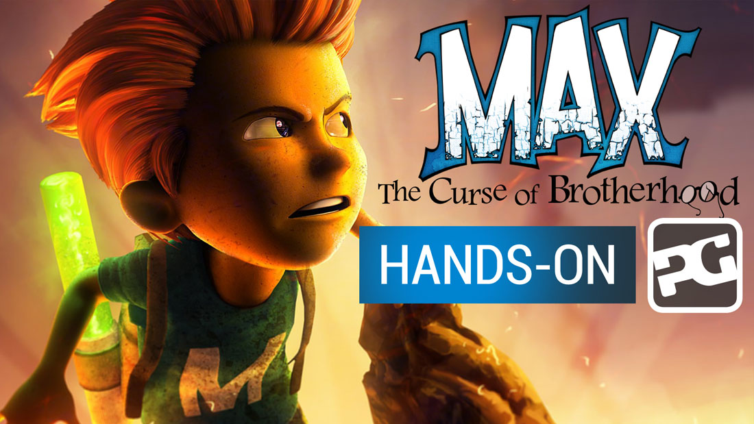 "Max: The Curse of Brotherhood video hands-on ""The magic pen is mightier than the sword"""