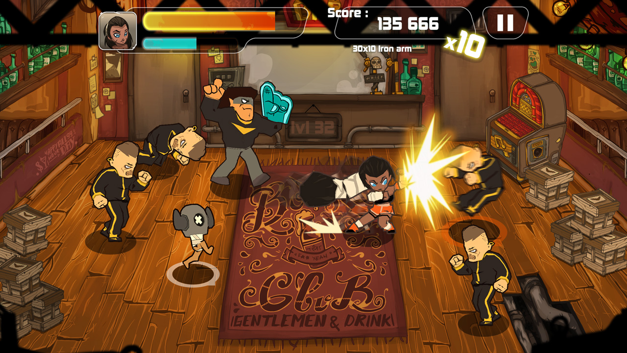 Pick up where your friends left off with Combo Crew, a beat-'em up With Friends for iOS and Android