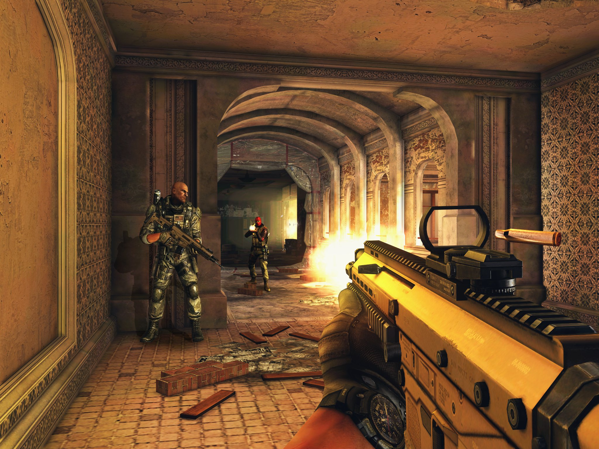Modern Combat 5: Blackout gets Apple Watch support for customisation, stats checking