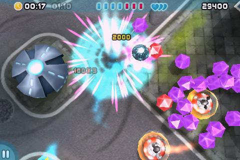 BeamOut iPhone, screenshot 1