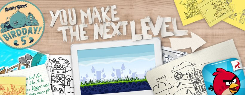 Rovio is giving you the chance to make a level for the next episode of Angry Birds
