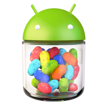 See Jelly Bean running on the first-ever Android handset