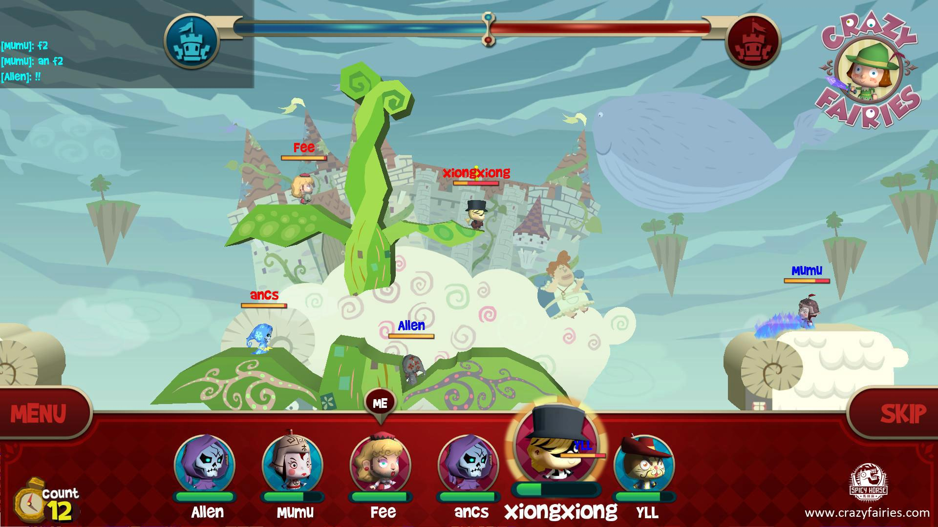 American McGee's Crazy Fairies brings turn-based action to Android