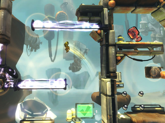 Sci-fi anti-gravity platformer Inertia: Escape Velocity swooping onto Xperia Play