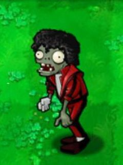 Michael Jackson-esque zombie pulled from Plants vs Zombies