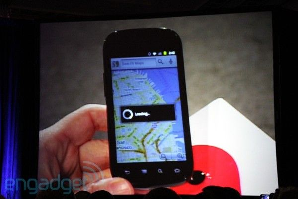 Google's Eric Schmidt shows off Samsung Nexus Android device