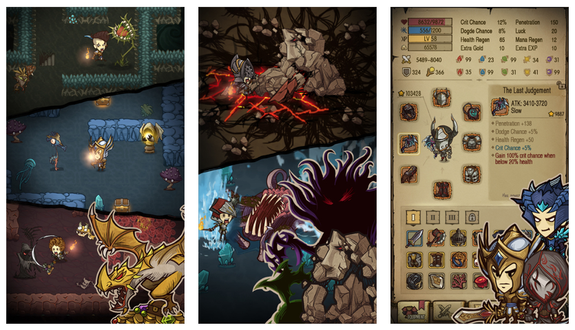 Get dungeon crawling in the surprisingly addictive gem The Greedy Cave