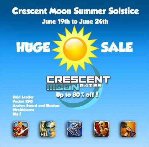 Grab Raid Leader, Wraithborne, and more Crescent Moon Games titles for 69p/99c each