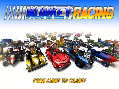 Out at midnight: Monkey Racing is a game about racing monkeys from Crescent Moon for iPad and iPhone