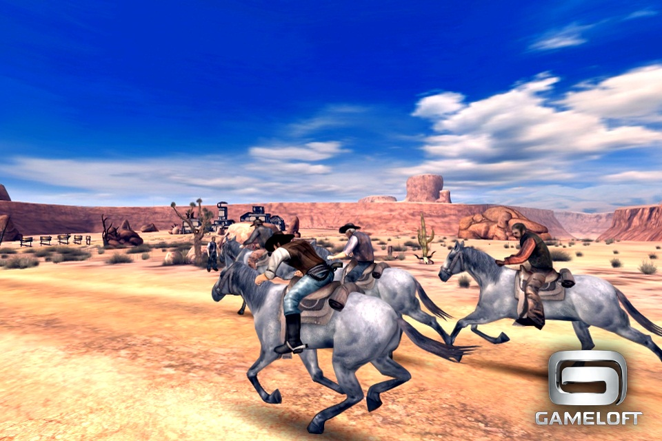 Gameloft's freemium fantasy-western Six Guns rides onto iPhone and iPad tomorrow