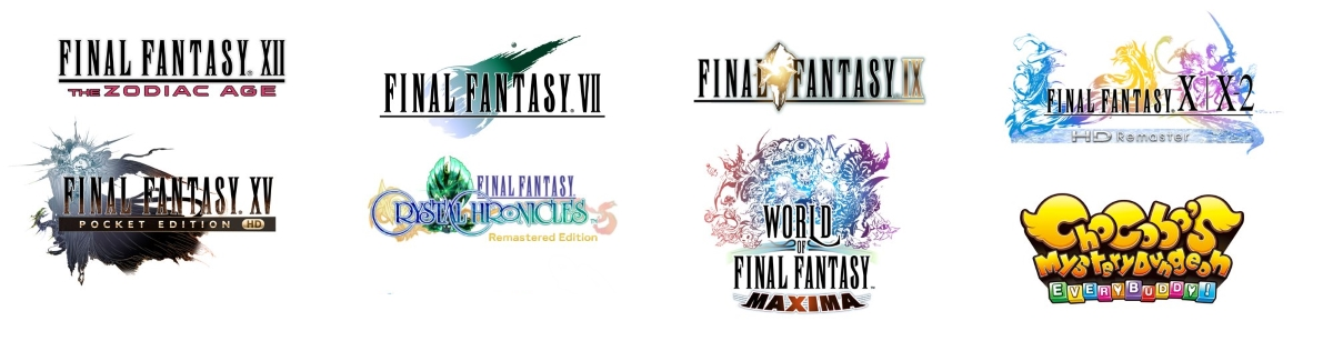 Nine Final Fantasy games are coming to Switch over the next year