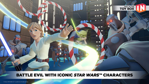 Disney Infinity: Toy Box 3.0 adds Star Wars characters to the fun, out on iOS